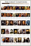 Klassiska kompositörer|Classical Composers Affischer