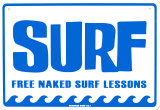 Surf Tin Sign