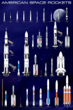 American Space Rockets Photo
