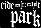 Ride The Freestyle Park Tin Sign