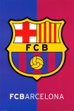 Barcelona- Crest Kunstdrucke