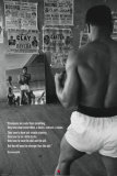 Muhammad Ali beim Training Poster