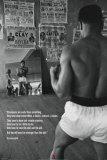 Muhammad Ali en el gimnasio Pósters
