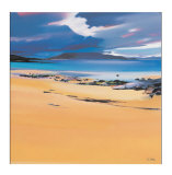 Niabost Sand, Harris Collectable Print by Pam Carter