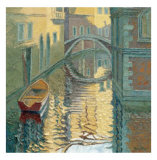 Venice, Rippled Reflections Collectable Print by Alan Cotton