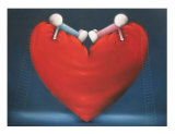 High On Love Collectable Print by Doug Hyde