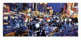 Black Cabs, London Affiche par Roy Avis