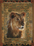 Lion Posters by Rob Hefferan
