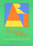 Atlanta-ART, 1972 Serigraph van Robert Indiana