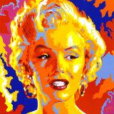Marilyn Monroe Poster af Vladimir Gorsky