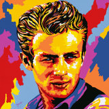 James Dean Prints by Vladimir Gorsky