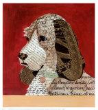 Composition en papier V Affiches par Karen Dupré