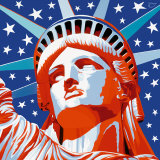 Statue of Liberty Posters by Vladimir Gorsky