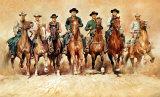 siete magníficos, Los Magnificent Seven, The Pósters por Renato Casaro