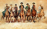 The Magnificent Seven Posters by Renato Casaro