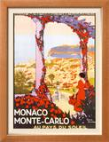 Monte Carlo, Monaco Posters by Roger Broders