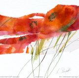 Modern Poppy V Posters by Marta Peuckert