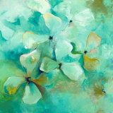 Floating Flowers Art by Anne L. Strunk