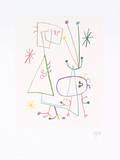 Joan Miró - Parler Seul, 1947 - Poster