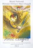The Angel Of Judgement, 1974 Collectable Print by Marc Chagall