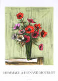 Anemones Collectable Print by Bernard Buffet