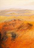 Mediterrane Landschaft II Poster by Bernhard Gerner