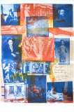 100 Years Treasury of the Conscience of Man, 1970 Collectable Print by Robert Rauschenberg