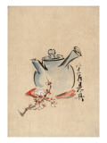Still Life with Teapot and Cherry Blossom Prints