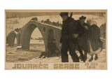 Journee Serbe. 25 Juin 1916 Prints by Pierre Mourgue