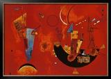 Mit Und Gegen Print by Wassily Kandinsky