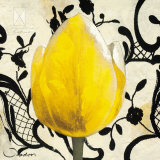 Yellow Tulip Prints by Joadoor 