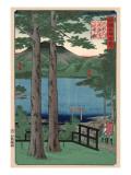 Chuzenji Lake, Shimotsuke Prints by Hiroshige Utagawa