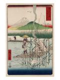 Sagami River, Shoshu Prints by Ando Hiroshige