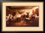 The Declaration of Independence Prints by John Trumbull