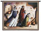 Three Kings and a Fountain Wall Tapestry by Lynn Bywaters