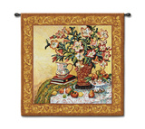 Asian Lilies Wall Tapestry by Suzanne Etienne