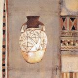 Ceramica Etnica II Prints by  Nassanne