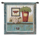 Garden Cabinet Wall Tapestry by Arnie Fisk
