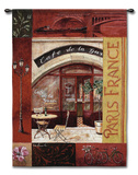 Paris France I Wall Tapestry by Fabrice De Villeneuve