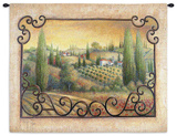 Visions of Tuscany Wall Tapestry by Elaine Vollherbst-Lane