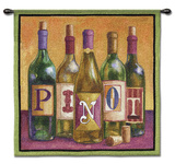 Pinot Wall Tapestry by Geoff Allen