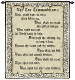 The 10 Commandments-Mini Tapiz