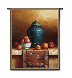 Ginger Jar Wall Tapestry by Loran Speck
