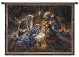 We Three Kings Wall Tapestry by  Sherwood