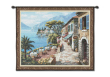 Overlook Cafe Wall Tapestry by Sung Kim