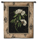 Silver Rhododendron Wall Tapestry by Regina-Andrew Design 