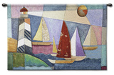 Bay Regatta Wall Tapestry by  Bonadventura