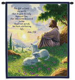 John 3:16 Wall Tapestry by Raoul Vitale