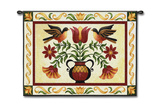 Folk Robin Wall Tapestry by Jennifer Brinley