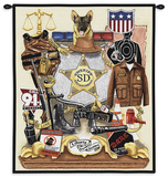 Sheriff's Pride Wall Tapestry